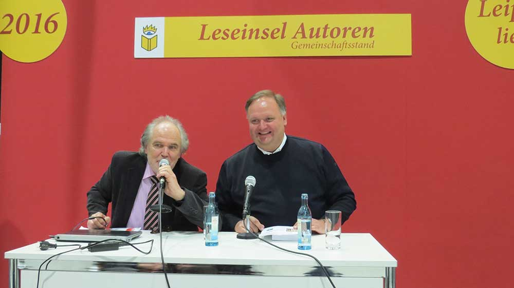 Leipziger Buchmesse 2016 Ferank Timmermann Make it happen