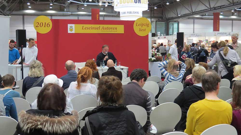 Frank Timmermann auf der Leipziger Buchmesse 2016